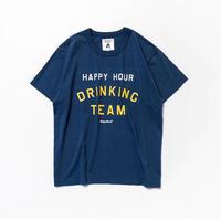 TACOMA FUJI RECORDS / HAPPY HOUR DRINKING TEAM designed by  Shuntaro Watanabe / タコマフジ / ネイビー