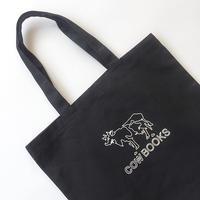 COWBOOKS / LOGO TOTE / BLACK / カウブックス / ロゴトート / ブラック