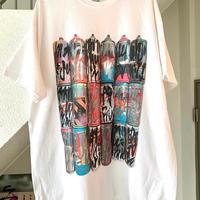 RYUJI KAMIYAMA / 神山隆二 / スプレー缶 / Tシャツ / ホワイト
