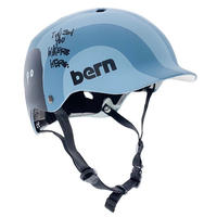 BERN × RYUJI KAMIYAMA / WATTS / BLUE / 神山 隆二 / ヘルメット / 大人用  / ブルー