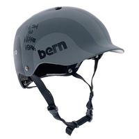 BERN × RYUJI KAMIYAMA / WATTS / GRAY / 神山 隆二 / ヘルメット / 大人用  / グレー
