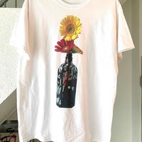 RYUJI KAMIYAMA / 神山隆二 / フラワー / Tシャツ / ホワイト
