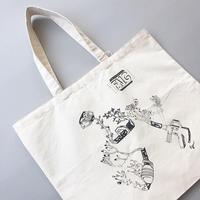 SUOLO / CAMBUS TOTE BAG / スオーロ / キャンバストートバッグ / イラスト