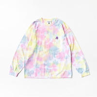 TACOMA FUJI RECORDS / TACOMA FUJI LOGO  embroidery ver. (LS) / TYE DYE / タコマフジ / 刺繍 / タイダイ