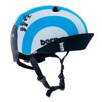 BERN × RYUJI KAMIYAMA / NINO / NEON BLUE / 神山 隆二 / ヘルメット / 子供用  / ネオンブルー