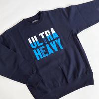 ULTRA HEAVY × 九州活版印刷所 / SWEAT SHIRTS / ウルトラヘビー / スウェット / ネイビー