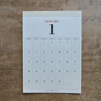 MUCU / 壁掛けカレンダー DAYS 2020