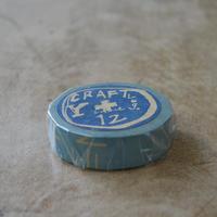CRAFTLog. / グラフィティB マスキングテープ 1巻パック(ブルー)