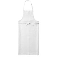 fog linen work / リネン フルエプロン(ホワイト)