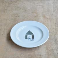 トラネコボンボン / 犬の丸皿(小)