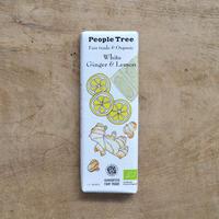 People Tree / フェアトレードチョコレート・ホワイト ジンジャー&レモン