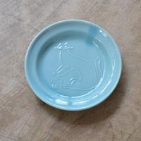 トラネコボンボン / ラウンド豆皿・ネコ