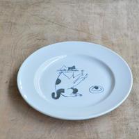 トラネコボンボン / 猫の丸皿(大)