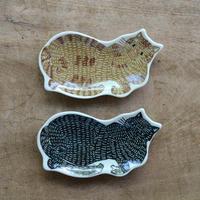 KATA KATA / 印判手豆皿 ネコ
