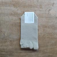 ささ和紙 メンズ 5本指靴下(24-26cm)