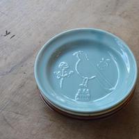 トラネコボンボン / ラウンド豆皿