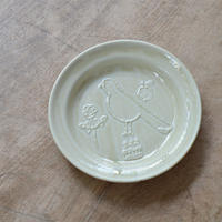 トラネコボンボン / ラウンド豆皿・トリ