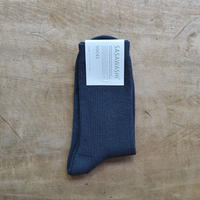 ささ和紙 レディス リブ靴下(22-24cm)