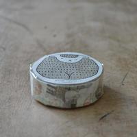 絵と木工のトリノコ / けものたち マスキングテープ 1巻パック(みどり)