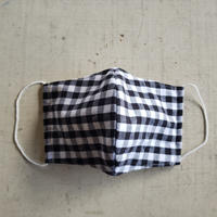mask gingham check no.7