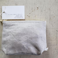 pouch linen 16cm