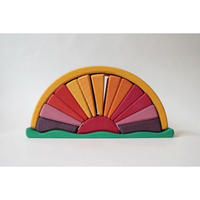 """Sun"" wood educational toy"