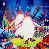 アメージングフィールド・パープルペンギン