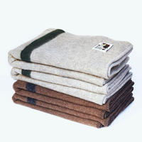 【Brown × Dark Grey】Armchair Blanket