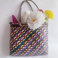VTG Mexican straw bag