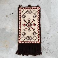 Tyrolean pattern rug mat