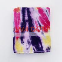 DONA Printed TIE DYE TOWEL / Pink