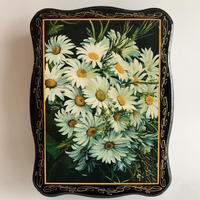 VTG classic flower motif box