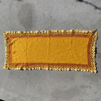 VTG Embroidered place mat / Orange