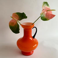 VTG Orange milk jar