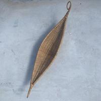 VTG Boat shape straw basket