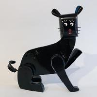 African tinplate cat / Black