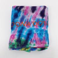 DONA Printed TIE DYE TOWEL / Blue