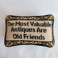 VTG Quoted words cushion