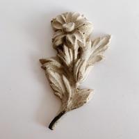 Flower motif ornament