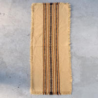 Embroidered fringe place mat