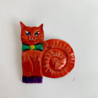 Mexican animal tin magnet