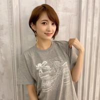 【Tシャツ】J-POP COVERNIGHT Vol.1 ジャケットTシャツ (グレー・モノクロ)