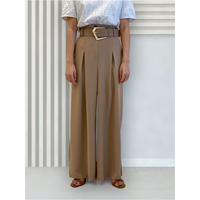 diploa | BELTED WIDE PANTS | Beige