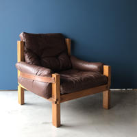 [※PRICE/ASK]S15  Arm Chair -1 / Pierre Chapo / ca.1960