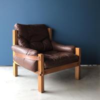 [※PRICE/ASK]S15  Arm Chair -1 / Pierre Chapo / ca.1960