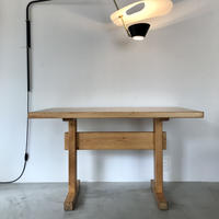 """Solid Pine Table 1200 for """"Les Arcs"""" / Charlotte Perriand"""