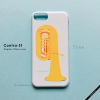 カバー型iPhoneケース[チューバ]11 / 11pro max / XR / XS max / 8plus / 7plus/ 6plus