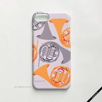 カバー型iPhoneケース[ホルン]11pro / X / XS / 8 / 7 / 6 / 6s / SE(第2世代)