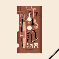 カバー型ケース[弦楽器]Xperia XZ3(SO-01L/SOV39)