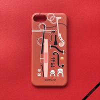 カバー型iPhoneケース[弦楽器]11 / 11pro max / XR / XS max / 8plus / 7plus/ 6plus
